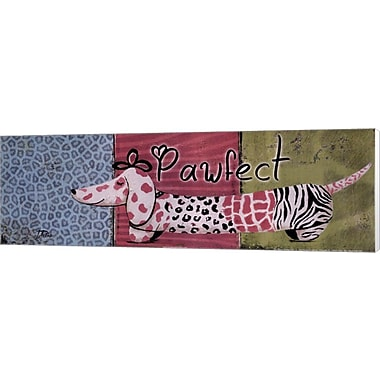 Evive Designs Pawfect by Patricia Pinto Painting Print on Wrapped Canvas