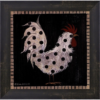 Evive Designs Chicken Pox III by Lisa Hilliker Framed Painting Print
