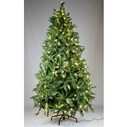 Queens of Christmas 7.5' Artificial Lit Tree