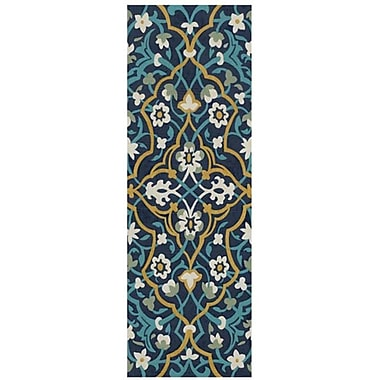 Evive Designs Cobalt Tapestry I by Chariklia Zarris Graphic Art