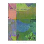 Evive Designs Pastel Quadrants I by Ricki Mountain Painting Print