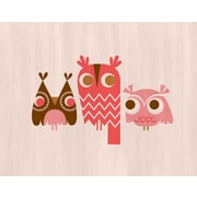 Evive Designs Owls by Jeanie Nelson Graphic Art