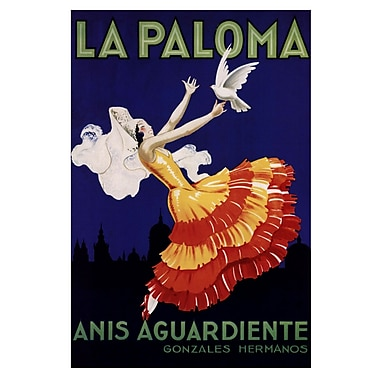 Evive Designs La Paloma Vintage Advertisement