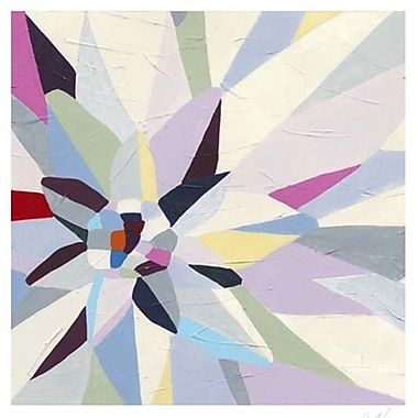 Evive Designs Geometric Dahlia I by June Erica Vess Graphic Art