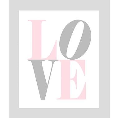 Evive Designs Love Paper Print