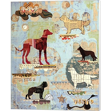 Evive Designs Dog Show Part I by Dolan Geiman Graphic Art on Canvas