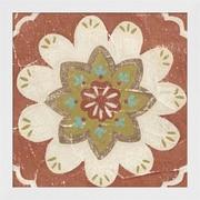 Evive Designs Rustic Tiles V by Chariklia Zarris Framed Painting Print