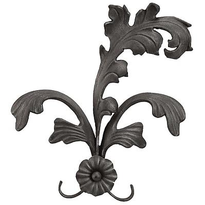 Menagerie Casa Artistica Extended Leaf Curtain Holdback (Set of 2); Black