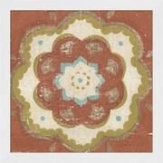 Evive Designs Rustic Tiles VI by Chariklia Zarris Framed Painting Print