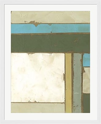 Evive Designs Weathered Paneling I by Jennifer Goldberger Framed Painting Print