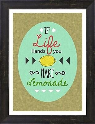 Evive Designs Lemonade by Felt Mountain Studios Textual Art