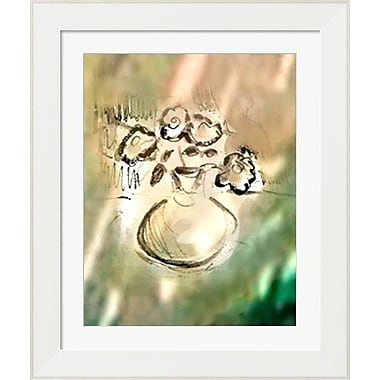 Evive Designs Stilllife Sunlight Bouquet by Holly Mcgee Framed Painting Print