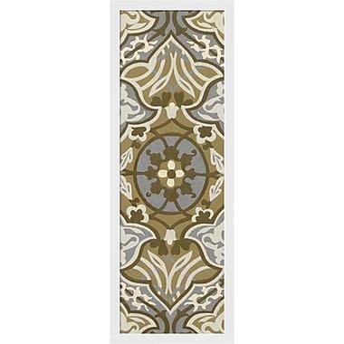 Evive Designs Palladium Tapestry I by Chariklia Zarris Framed Graphic Art
