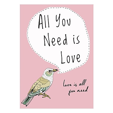 Evive Designs All You Need is Love by Felt Mountain Studios Graphic Art