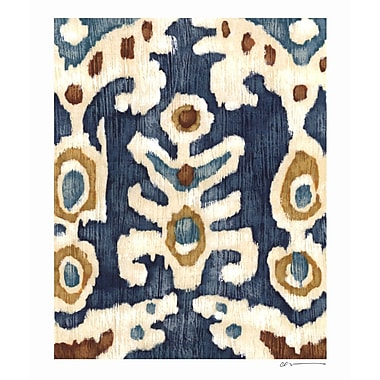 Evive Designs Ocean Ikat III by Chariklia Zarris Painting Print