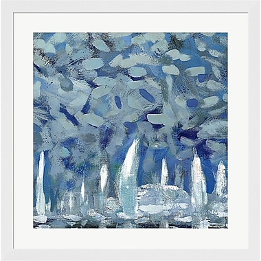 Evive Designs By the Pier II by Kingsley Framed Painting Print