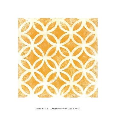 Evive Designs Small Modern Symmetry VII by Chariklia Zarris Graphic Art