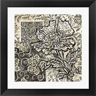 Evive Designs Chintz III by Chariklia Zarris Framed Graphic Art