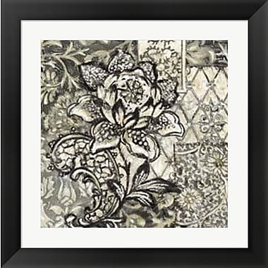 Evive Designs Printed Graphic Chintz II by Chariklia Zarris Framed Graphic Art