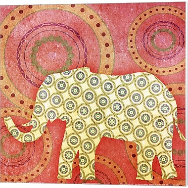 Evive Designs Elephant Canvas Art