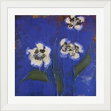 Evive Designs Orchid Study II by Maeve Harris Framed Painting Print