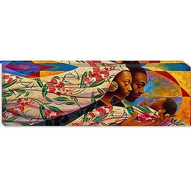 iCanvas ''Tenderly'' by Keith Mallett Painting Print on Wrapped Canvas; 16'' H x 48'' W x 1.5'' D