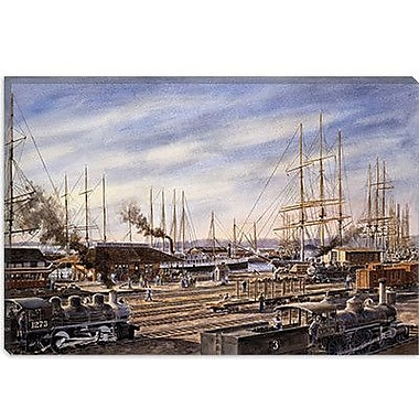 iCanvas ''San Pedro Sunrise'' Canvas Wall Art by Stanton Manolakas; 12'' H x 18'' W x 1.5'' D