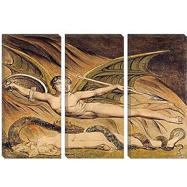 iCanvas 'Satan Exulting over Eve' by William Blake Painting Print on Wrapped Canvas
