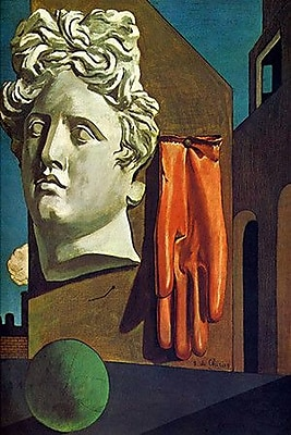 iCanvas ''The Song of Love'' by Giorgio de Chirico Painting Print on Wrapped Canvas