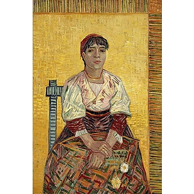 iCanvas 'The Italian Woman' by Vincent Van Gogh Painting Print on Wrapped Canvas