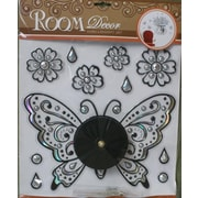 Creative Motion Do It Yourself 12'' Butterfly Clock