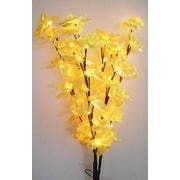 Creative Motion 3 Piece 48 Light Branch Orchid Blossom Tree Light