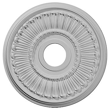 Ekena Millwork Melonie 16''H x 16''W x 0.75''D Ceiling Medallion