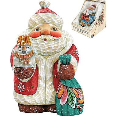 G Debrekht Derevo Santa w/ Snowman