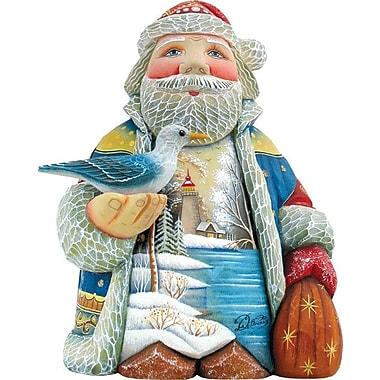 G Debrekht Derevo Harbor Light Santa