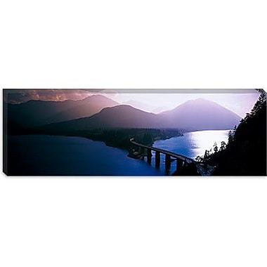 iCanvas Panoramic Sylvenstein Lake Bavaria, Germany Photographic Print on Wrapped Canvas
