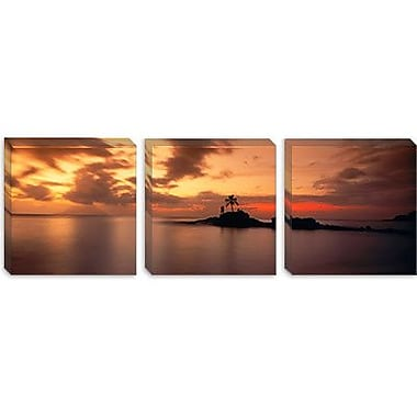 iCanvas Panoramic Anse Severe, la Digue Island, Seychelles Photographic Print on Wrapped Canvas