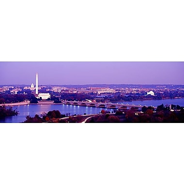 iCanvas Panoramic Washington, D.C Photographic Print on Wrapped Canvas; 16'' H x 48'' W x 1.5'' D
