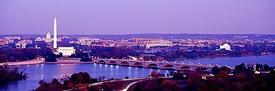 iCanvas Panoramic Washington, D.C Photographic Print on Wrapped Canvas; 12'' H x 36'' W x 1.5'' D