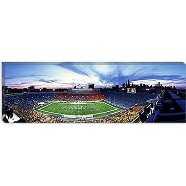 iCanvas Panoramic Soldier Field Football, Chicago, Illinois Photographic Print on Wrapped Canvas