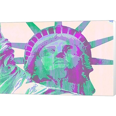 Evive Designs Miss Liberty by Evie Empire Graphic Art on Wrapped Canvas