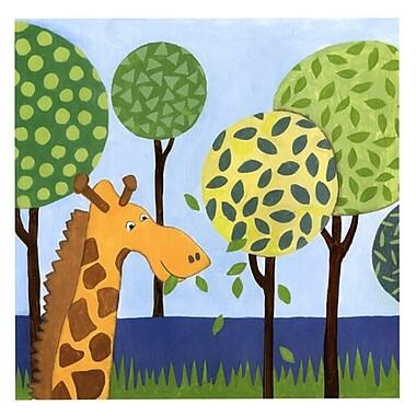 Evive Designs Jungle Fun III Paper Print