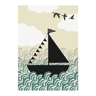 Evive Designs Dreamboat by Stephanie Bertenshaw Graphic Art