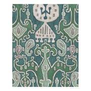 Evive Designs Emerald Ikat I by Chariklia Zarris Painting Print