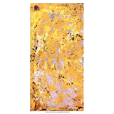 Evive Designs Silvery Yellow I by Natalie Avondet Painting Print