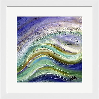 Evive Designs The Sea II by Patricia Pinto Framed Painting Print