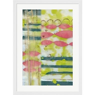 Evive Designs Found Objects I by Jennifer Goldberger Framed Graphic Art