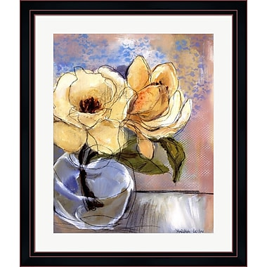 Evive Designs Magnolia Perfection II by Marina Louw Framed Painting Print