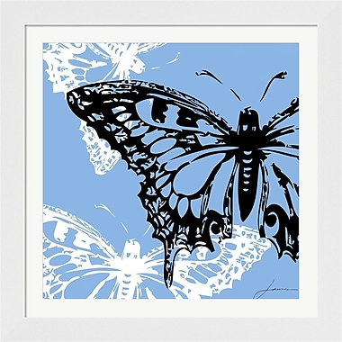 Evive Designs Pop Fly III by James Burghardt Framed Graphic Art