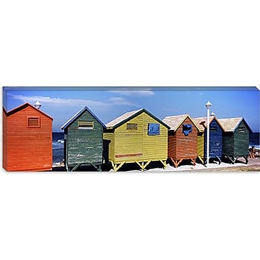 iCanvas Panoramic 'St. James Beach, Cape Town, South Africa' Photographic Print on Canvas